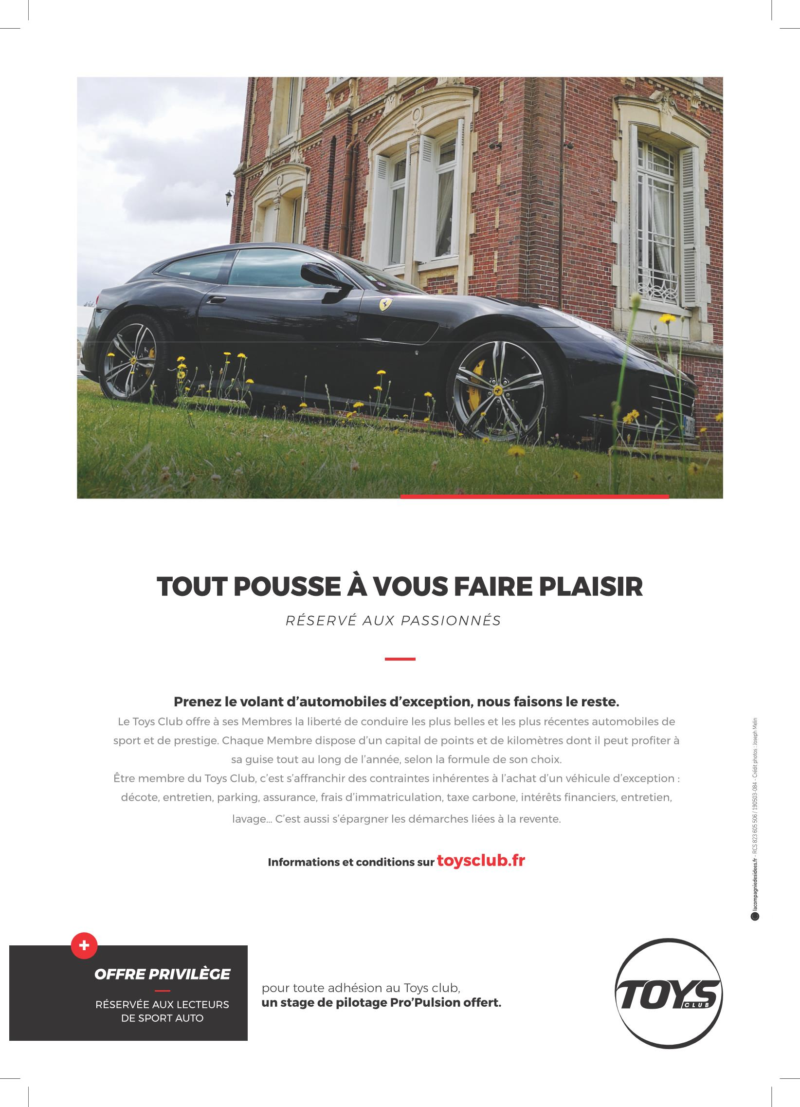 Promotion Sport Auto juin 2020